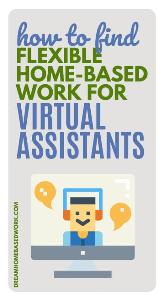 9 Places To Find Flexible Home-Based Work for Virtual Assistants pin