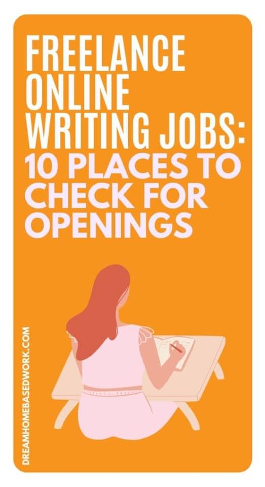 Si está buscando encontrar los mejores trabajos de redacción en línea independientes en línea, esta lista lo ayudará a encontrar trabajos disponibles en este momento. ¡Aplica hoy!