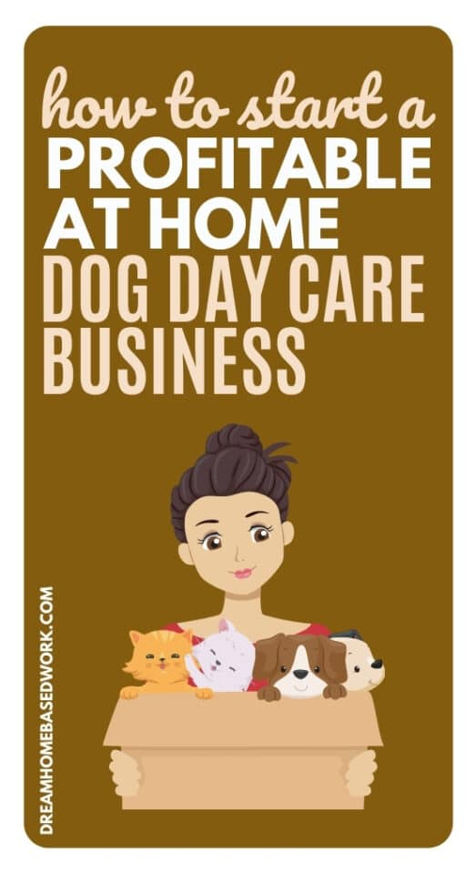 If you're a pet lover and love taking care of dogs, you can make money by starting a profitable at home dog daycare business.