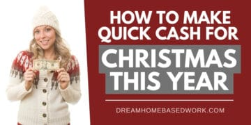 Make Quick Cash for Christmas This Year