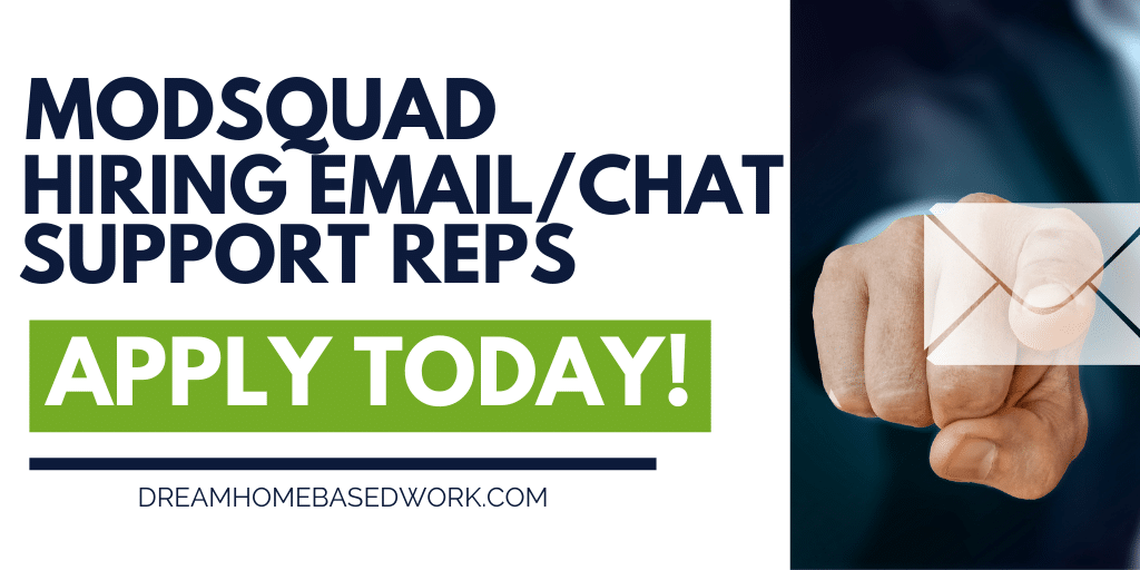 Rare Email/Chat Job! Work from Home Customer Service for Modsquad