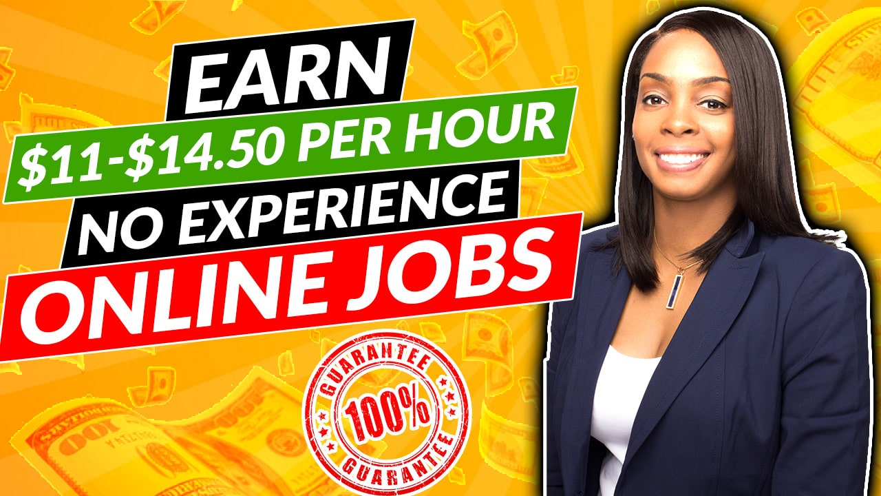 New Video! $11-$14 Hourly Work from Home Online Jobs with No Experience