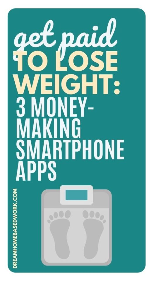 Get Paid To Lose Weight: 3 Money-Making Smartphone Apps pin