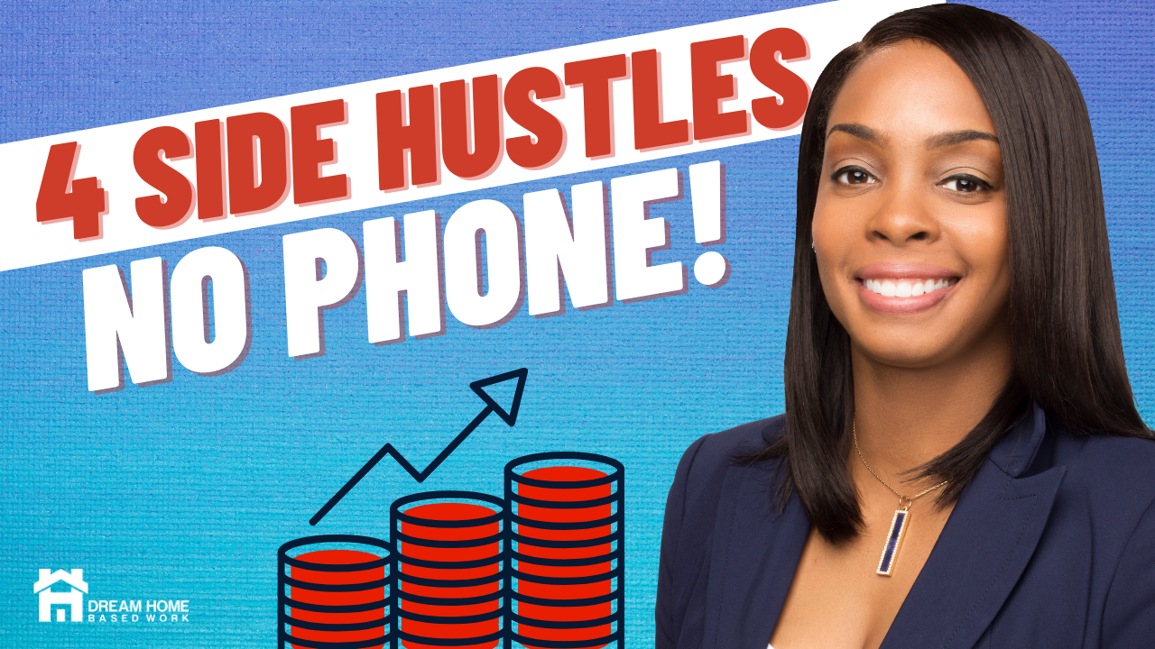 4 Easy Non-Phone Side Hustles You Can Do Online from Your Couch