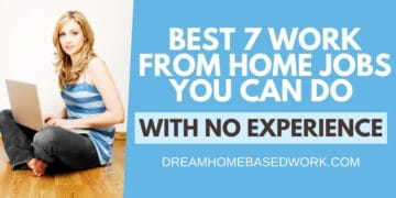 Best 7 Beginner Work from Home Jobs You Can Do With No Experience fb