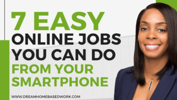 7 Easy Online Jobs You Can Do from Your Smartphone fb
