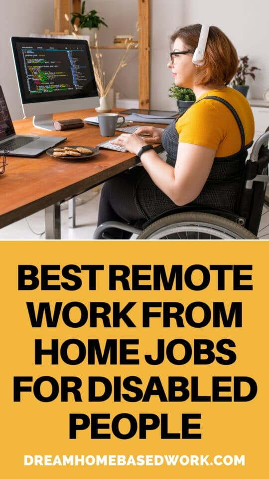 Learn how you can work from home while disabled. These remote jobs are ideal for anyone on social security benefits with health issues.