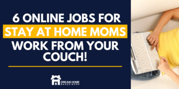 Best 6 Online Jobs for Stay at Home Moms To Make Money from Their Couch fb