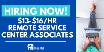 $13-$16/hr Sedgwick Hiring Home-Based Service Center Associates fb