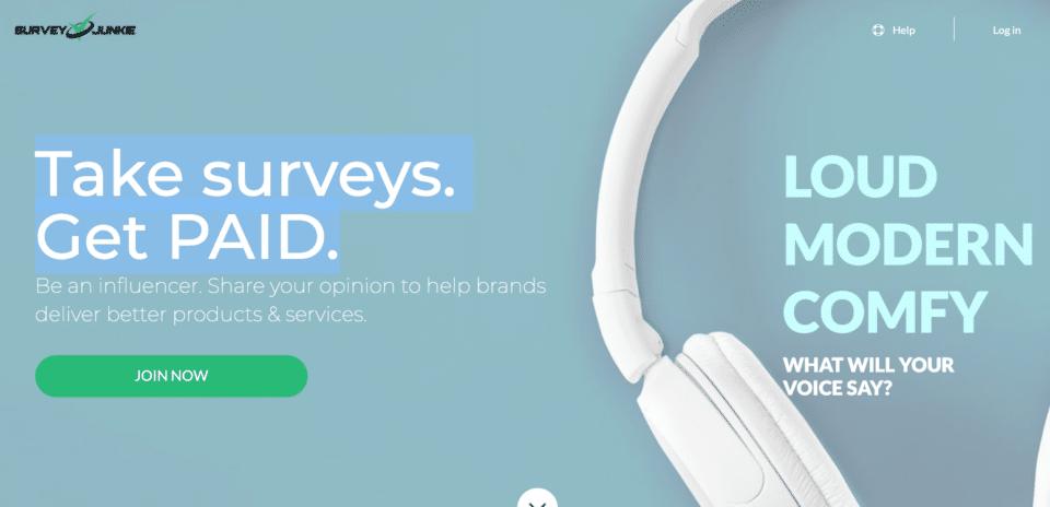 Survey Junkie screenshots