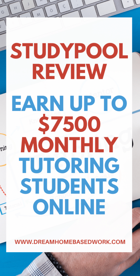 Need a legitimate online tutoring job that allows you to work from home and work flexible hours worldwide? Apply with StudyPool!