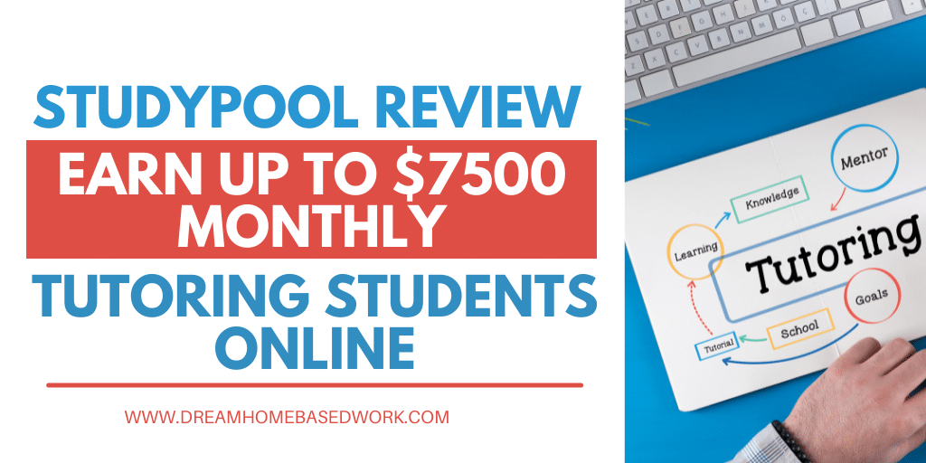 Read more about the article StudyPool Review: Earn Up to $7,500 Monthly Tutoring Students Online